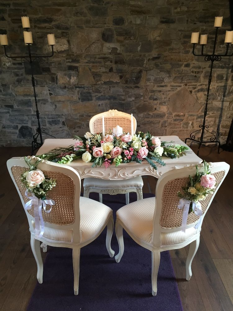 Ceremony Room Dressed Arbour Blooms (15)
