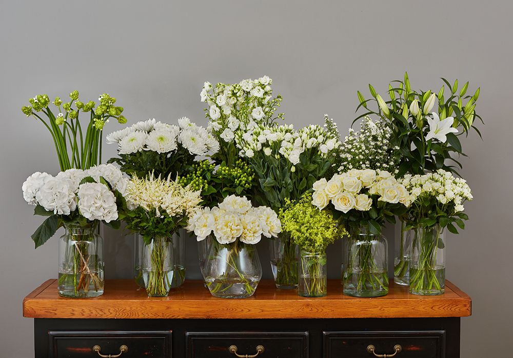 Simply White Hand Tied 3 Arbour Blooms