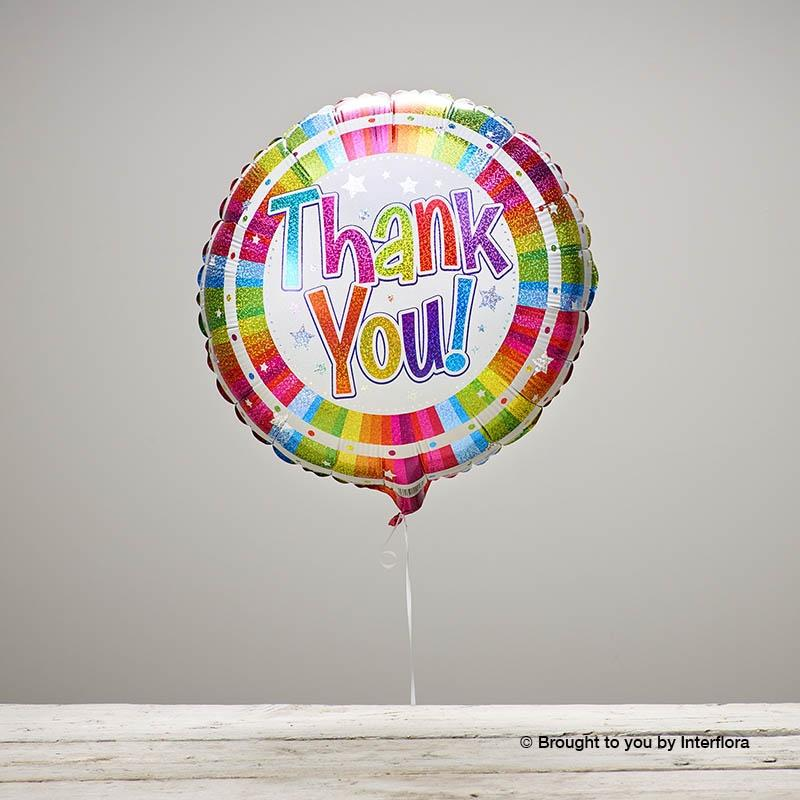 Thank You Balloon Arbour Blooms